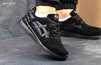 Мужские кроссовки в стиле Asics Gel-Lyte III, черные