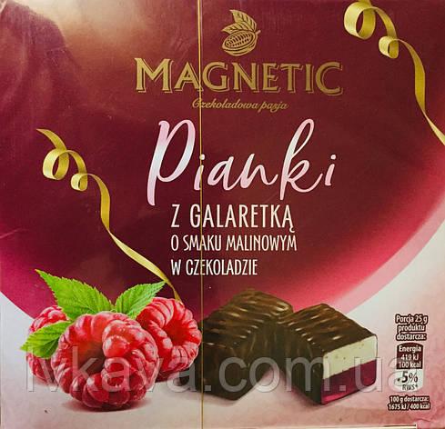 Конфеты желе в шоколаде Magnetic со вкусом  малины  , 380 гр, фото 2