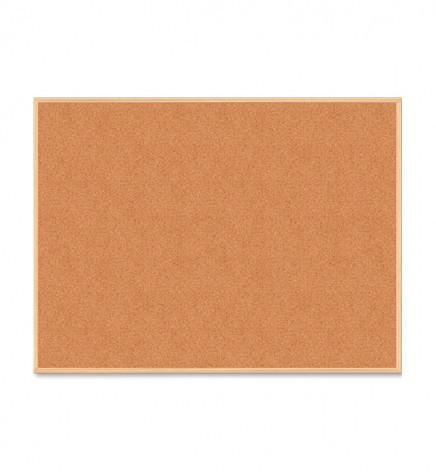 Доска пробковая 90х120 cм. в деревянной рамке BUROMAX BM.0015