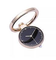 Кольцо-подставка/попсокет для телефона «Ancient timers» металлический (золотистый)