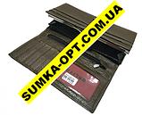 Жіночі гаманці з натуральної шкіри Baliya (коричневий)10*19, фото 3