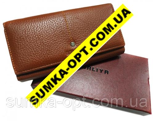 Жіночі гаманці з натуральної шкіри Baliya (коричневий)10*19
