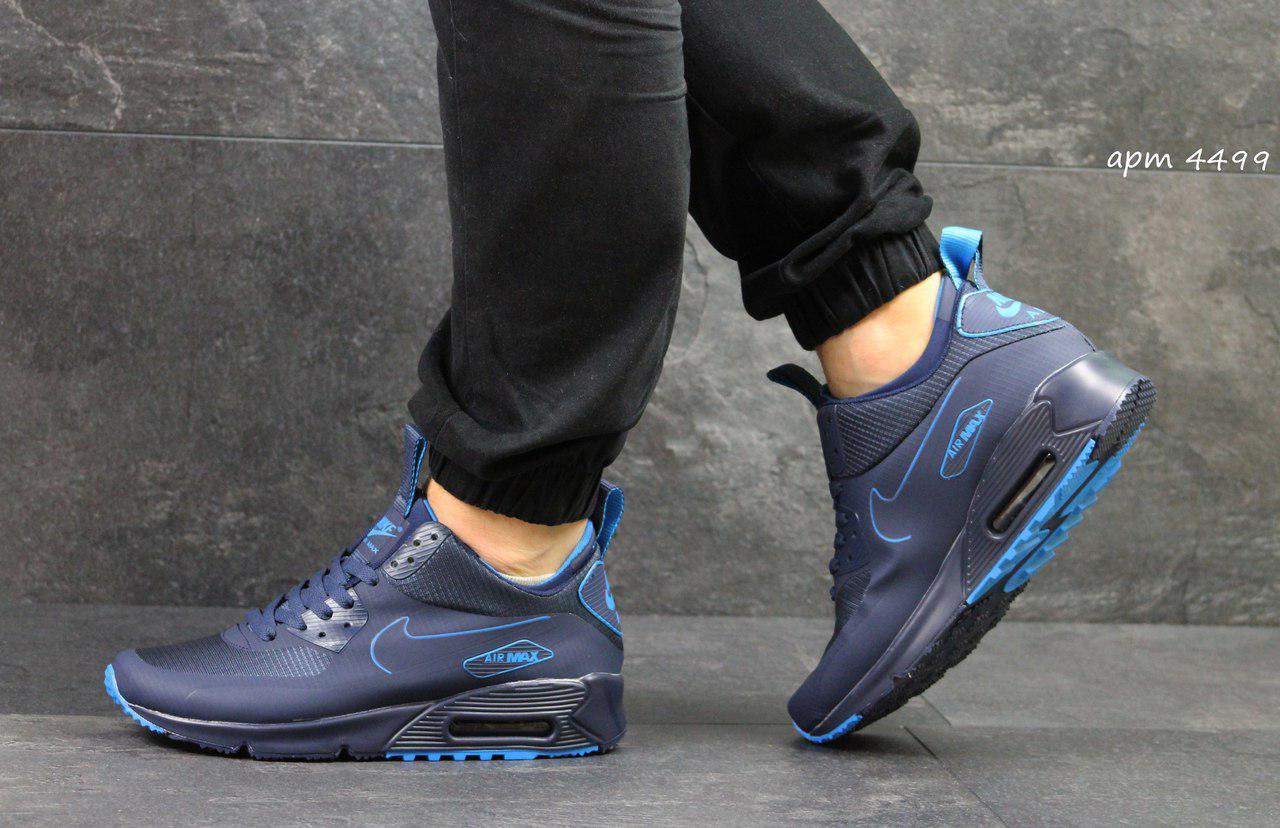 31259ad0 Мужские кроссовки Nike Air Max 90 Ultra Mid Winter Blue 44, цена 1 ...