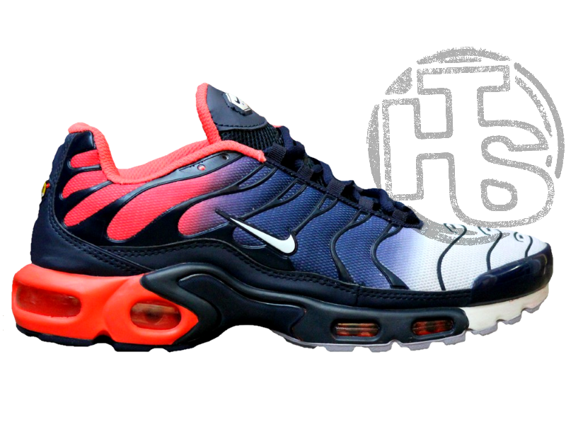 online store 95094 66ac2 Мужские кроссовки Nike Air Max Plus Hyperfuse Midnight Navy University Red  483553-416