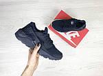 Женские кроссовки Nike Huarache (Темно-синие) , фото 2
