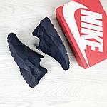 Женские кроссовки Nike Huarache (Темно-синие) , фото 4
