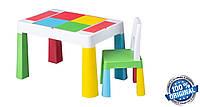 Комплект детской мебели Tega Baby MULTIFUN (стол + стульчик) (мультицвет (Мulticolor))