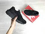 Женские кроссовки Nike Huarache (Черные) , фото 4