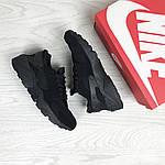 Женские кроссовки Nike Huarache (Черные) , фото 3