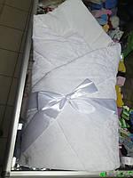 Конверт - Одеяло для новорожденного с Бантом Мальчик или Девочка