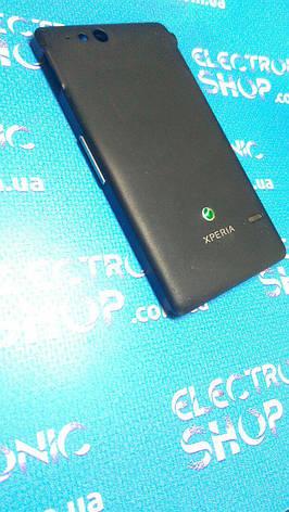 Корпус с кнопками Sony st27 Original б.у, фото 2