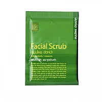 Скраб для лица очищающий с лекарственными травами Herbal Facial Scrub Supaporn 15 гр