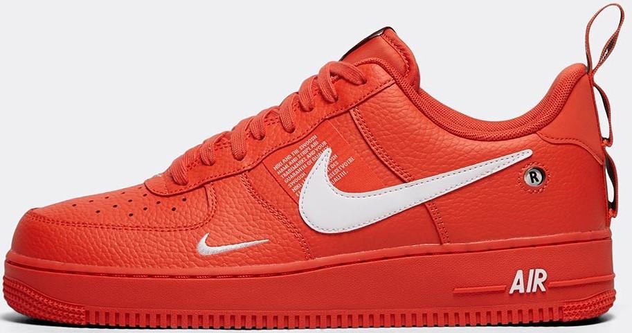 """Мужские кроссовки Nike Air Force 1 '07 """"Red"""" ( в стиле Найк Аир )"""