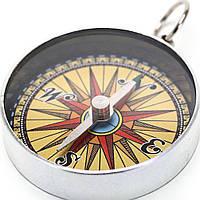 Портативный компас брелок
