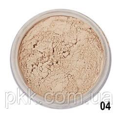 Пудра для лица рассыпчатая Parisa Cosmetics Loose powder LP-01 №04 Холодный беж
