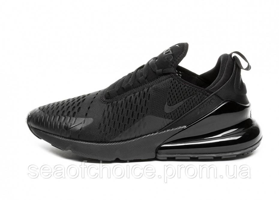 01475b53 Женские кроссовки Nike Air Max 270 Triple Black - sea OF choice в Харькове