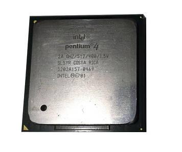Процессор Intel Pentium 4 2.00GHz/512/400 (SL5YR) s478, tray