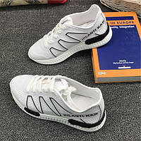 Белые легкие спортивные кроссовки, фото 1