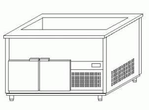 Стол холодильный Mawi LS 813/700/850