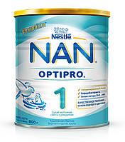Сухая детская молочная смесь NAN OptiPro 1, 800 г