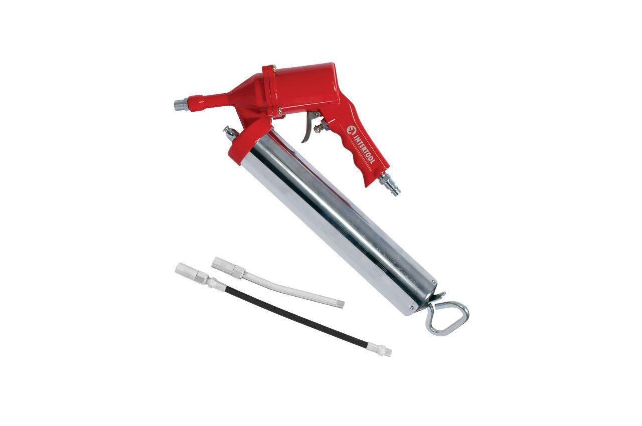 Пневмопістолет для видавлювання мастила Intertool - 8 бар