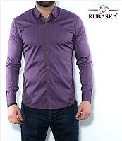 Чоловіча сорочка зі вставками, фото 1