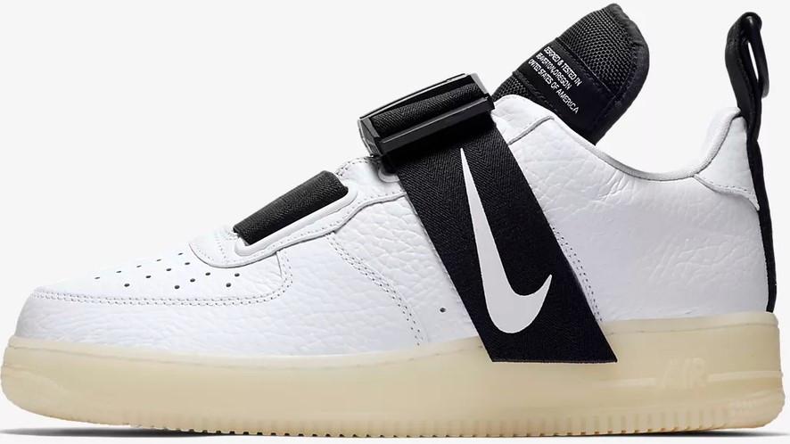 """Мужские кроссовки Nike Air Force Utility """"White/Black"""" ( в стиле Найк Аир )"""