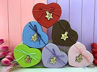 Подарок для девушки коробка оригинальная сердце HEARTS для декора интерьера для дома оригинальный подарок