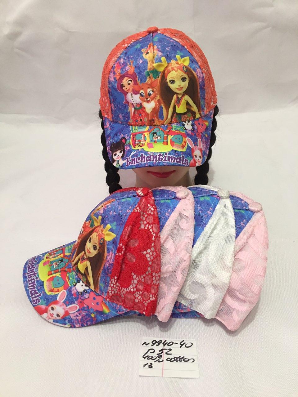 Детская летняя кепка для девочки р.52 100% cotton