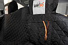 Автогамак для перевозки собак в автомобиле HobbyDog A001 220x140 см черный, фото 2