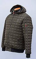 Мужская,демисезонная,стёганная куртка больших размеров.Tommy Hilfiger the Replic-Design.