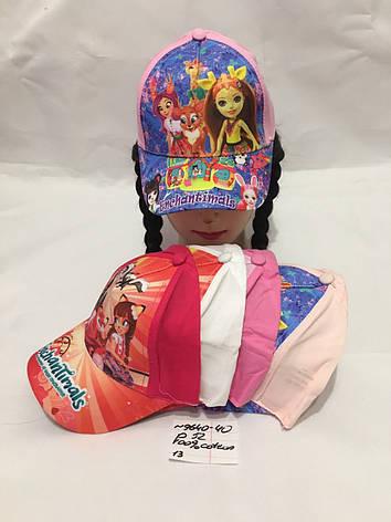 Детская летняя кепка для девочки р.52 100% cotton, фото 2