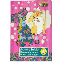 Картонная папка для труда zibi zb17.14904 art effect dog на резинке А4+