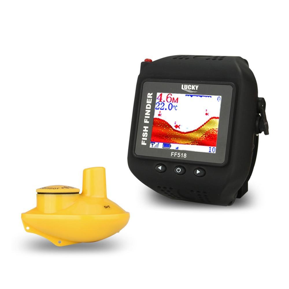 Безпроводной эхолот - часы LUCKY FF518 №395