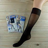 Гольфы женские капроновые чёрные 40 den KENA  Brand classic размер 45-50  ГЗ-13124