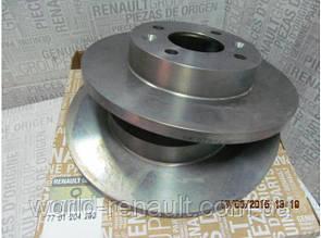 Тормозной диск передний на Renault Symbol, Clio D=238мм/ Renault (Original) 7701204282
