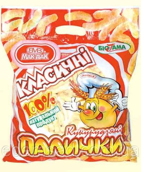 """Палочки кукурузные классические """"МакДак"""", 400г"""