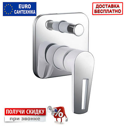 Смеситель для ванны скрытого монтажа Imprese Breclav, фото 2