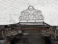 Кованая кровать ручной работы арт.км 34, фото 1