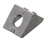 Уголок для алюминиевого станочного профиля т-слот 2020, фото 3