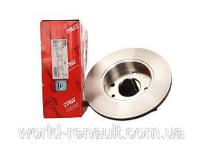 Тормозной диск передний на Renault Symbol, Clio D=238мм/ TRW DF1013