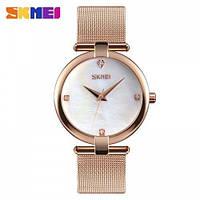 Мегастильные женские часы Skmei 9177 Marble! 75dcc419cde24