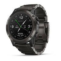Авиационные часы Garmin D2 Delta PX (Sapphire, Carbon Gray DLC Ti Band GPS,EMEA)