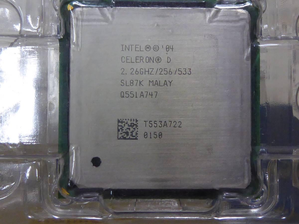 Процессор Intel Celeron 2.26GHz/256/533 (SL87K) s478, tray