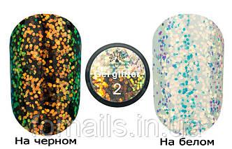Glitter Gel Chameleon Global Fashion M002, 5 г