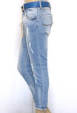 Женские модные джинсы бойфренды , фото 3