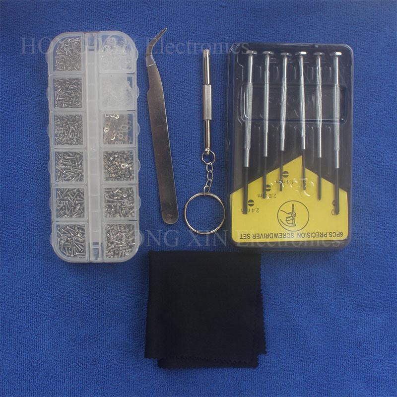 Комплект мини винтов и гаек + набор отверток Xongxing №392