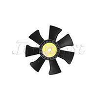 Вентилятор (крыльчатка) охлаждения двигателя Xinchai 485BPG, 490BPG № 490B-41100-XT, 490B-41100, 490B41100