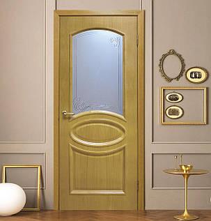 "Дверное полотно шпон Лаура ""СС+КР"" ДНТ, фото 2"