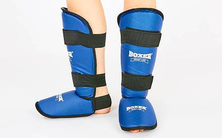 Защита для голени и стопы кожвинил BOXER 2002-C , фото 2